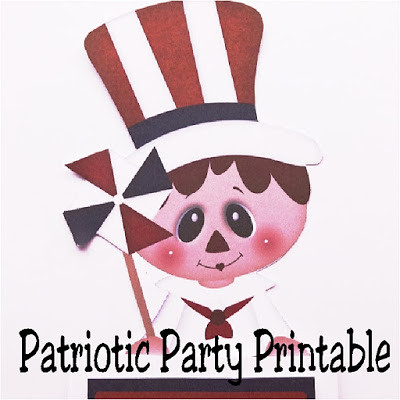 Patriotic Party Printable by DIY Party Mo
