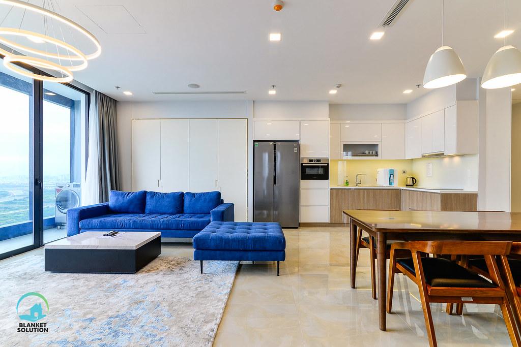Bán căn hộ Vinhomes bason Aqua4 lầu cao 46