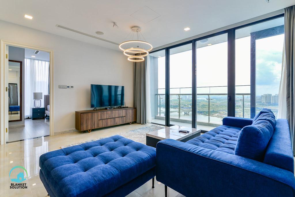 Bán căn hộ Vinhomes bason Aqua4 lầu cao 44