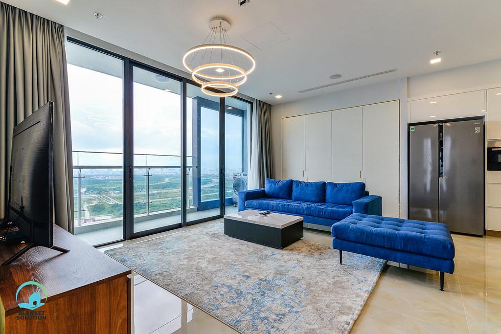 Bán căn hộ Vinhomes bason Aqua4 lầu cao 45