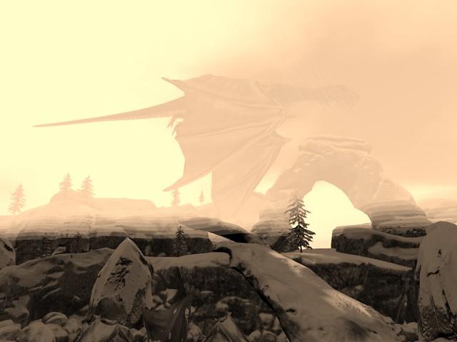 The Final Winter - Dragon Flight (Sepia)