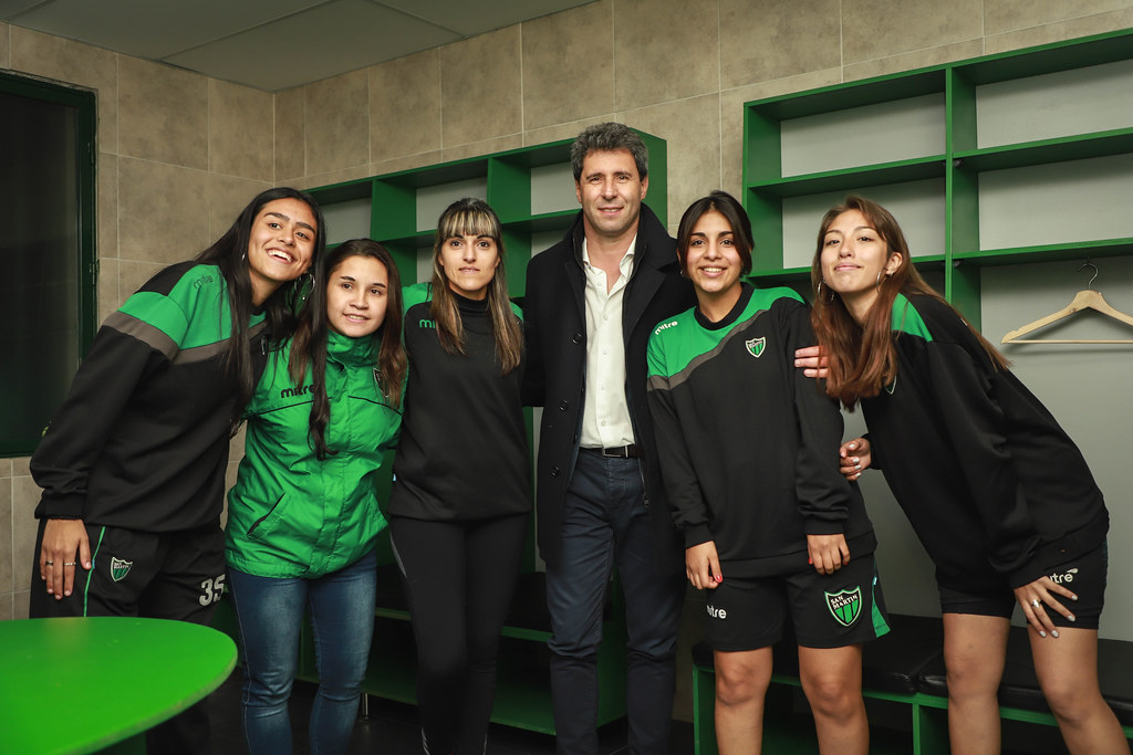 2019-06-06 PRENSA: San Martín inauguró sus vestuarios para plantel femenino