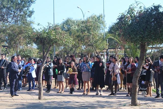 Encuentro de Jóvenes sector 5 en Placilla