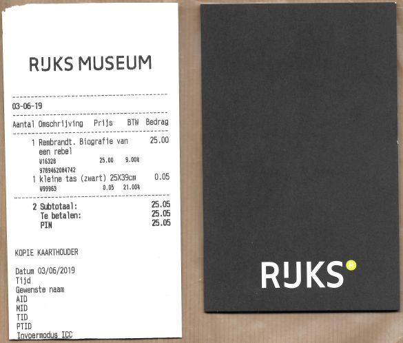 KunstIsBussinessLinksBoekRechtsRestaurant