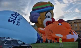 Hot air Balloon Fiesta in Kosice, Slovakia