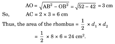 Mensuration NCERT Extra Questions for Class 8 Maths Q22.1