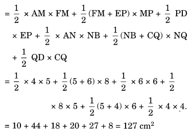 Mensuration NCERT Extra Questions for Class 8 Maths Q24.1