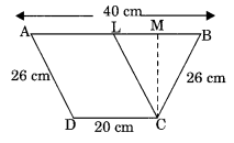 Mensuration NCERT Extra Questions for Class 8 Maths Q23