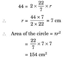 Mensuration NCERT Extra Questions for Class 8 Maths Q3