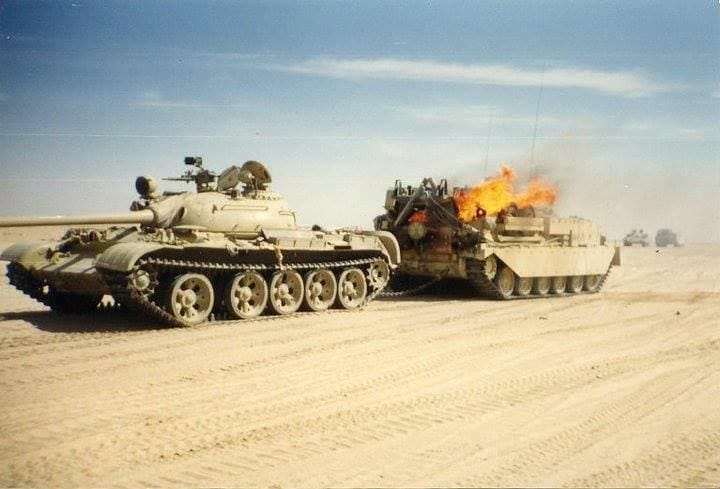 FV4204-Chieftain-ARV-hit-while-towing-T-54-iraq-rdi-1