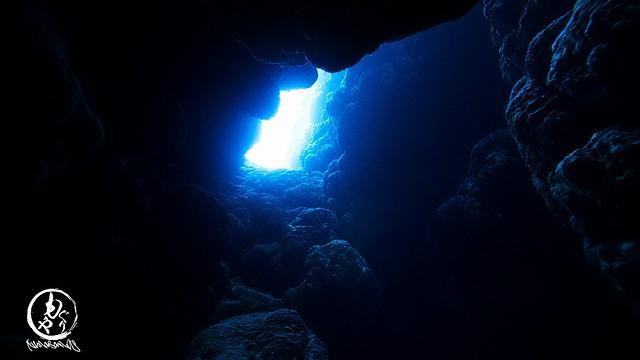 西表島で洞窟探検♪