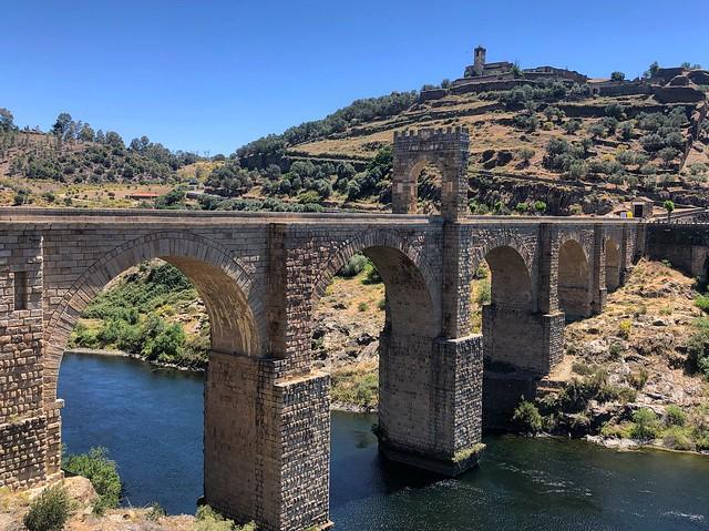 Puente romano de Alcántara (Tajo Internacional)