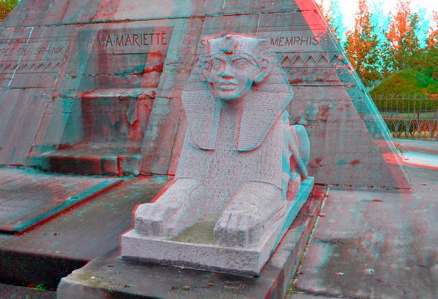 Standbeeld Auguste Mariette Boulogne-sur-Mer 3D