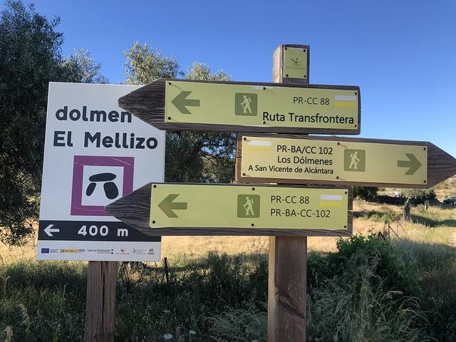 Ruta de los dolmenes en la Borrega de la Aceña (Tajo internacional)