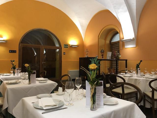 Restaurante Kántara en la Hospedería Conventual de Alcántara (Tajo Internacional)