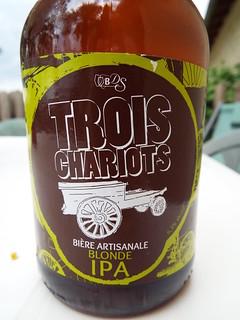 De Sutter, Trois Chariots Blonde IPA, France