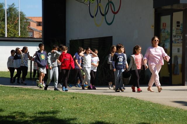 ¡Momento helado en el colegio!