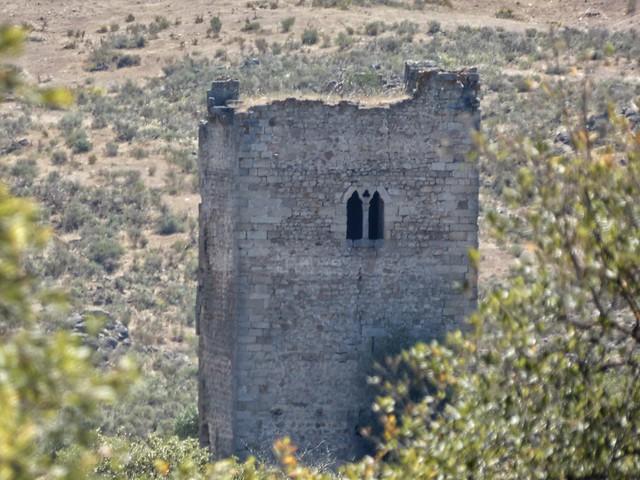 Castillo Peñafiel en Zarza la Mayor (Parque Natural Tajo Internacional)