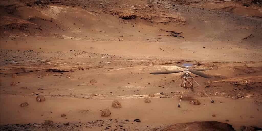 hélicoptère-NASA-tests
