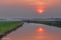 Nice orange sunset