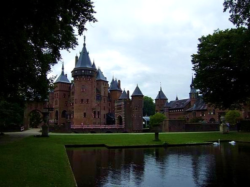 The medieval Castle De Haar in Utrecht