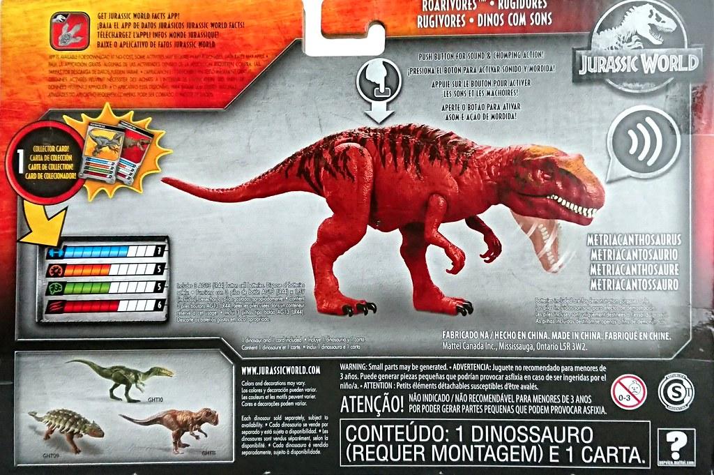 Jurassic World Dino Rivals 2019 Mattel Roarivores FMM23
