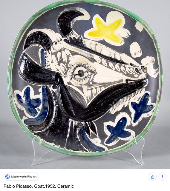 Perfect Picasso Style Plates