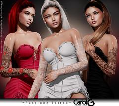 Passione Arms TaTToo [CAROL G]