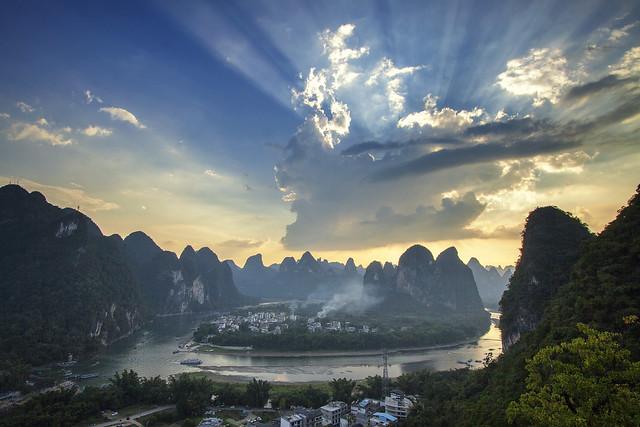 Li river bend.