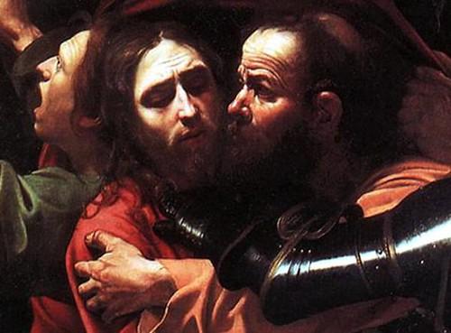 Giuda-Caravaggio-particolare