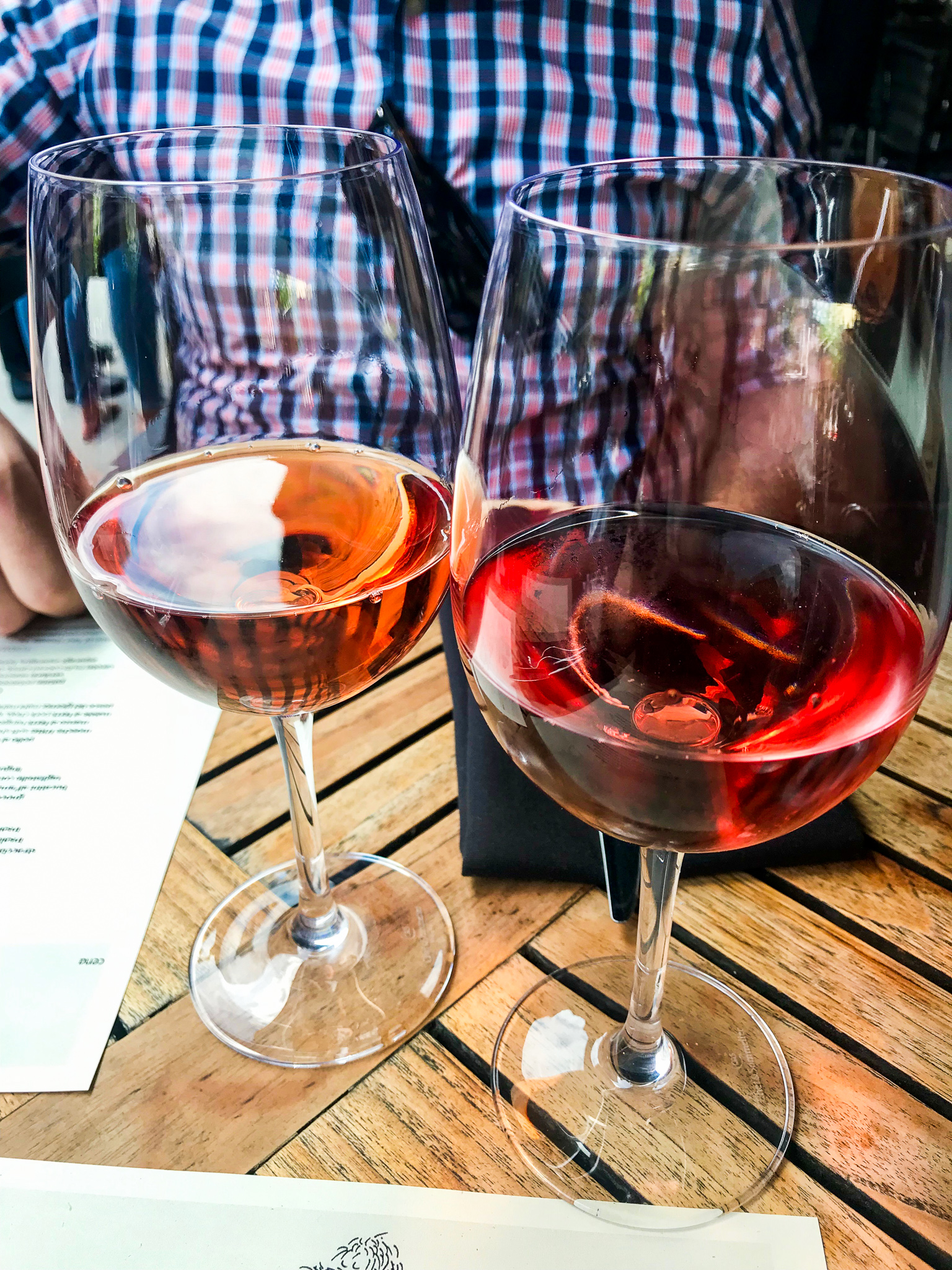 always the rosé at barbuto