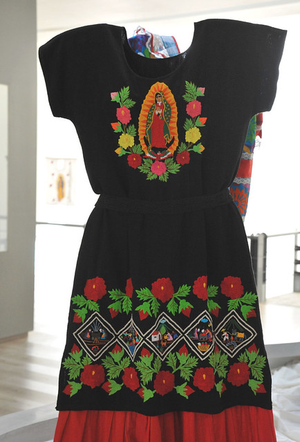 Mexican Blouse Skirt Guadalupe Michoacan