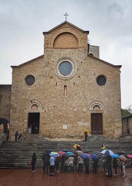 Church at San Gimignano, Italy