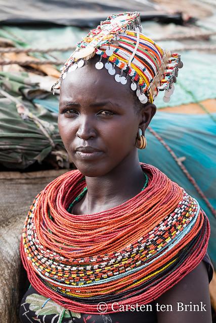Rendille village woman