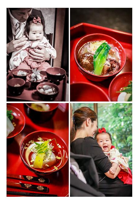 お食い初め儀式 料理 神楽屋 名古屋市東区 栄