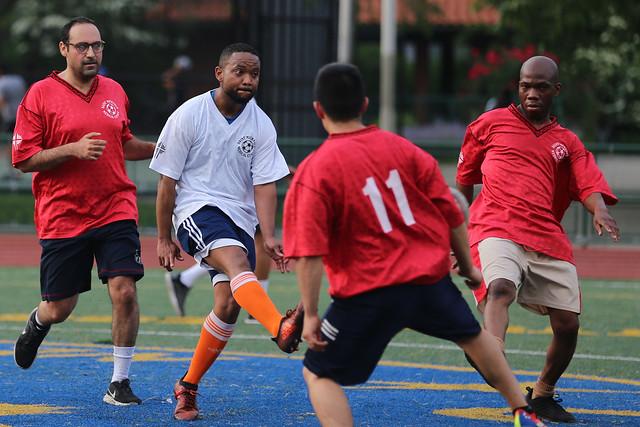 SMMC -- Soccer Game Attendings v. Residents 2019