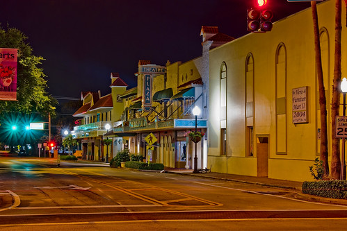 verobeach indianrivercounty city cityscape urban downtown skyline florida density centralbusinessdistrict building architecture commercialproperty cosmopolitan metro metropolitan metropolis sunshinestate realestate highrise condominium humidsubtropicalclimate treasurecoast verobeachpier atlanticocean jayceepark sand beach seaweed fishingpier historicdowntown verotheatre 203614thavenue usa built1924 fhtrimble mediterraneanrevival nrhpreference92000421 addedtonrhpapril28 1992 theatreplaza floridatheatre longexposure streetphotography nightphotography verofurnituremartii