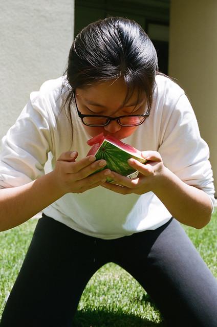 Ginny vs. Watermelon