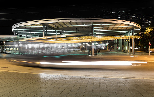 A passing bus