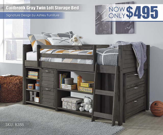 Caitbrook Twin Loft Storage Bed_B388-62-62B-OPTION-A