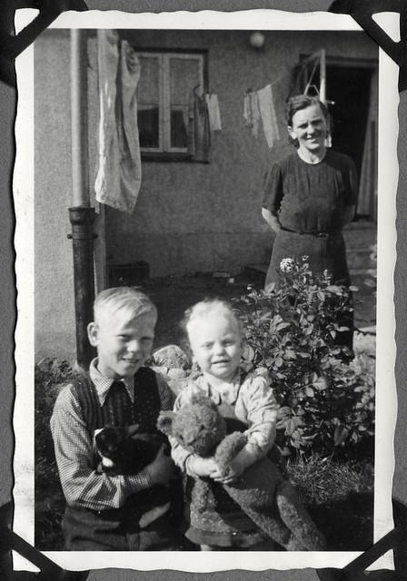 Album E55 Familienfoto, 1940-1950er