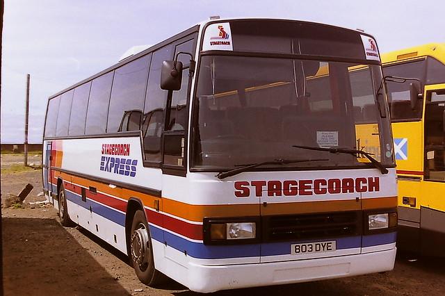 STAGECOACH WESTERN 111 803DYE H661UWR