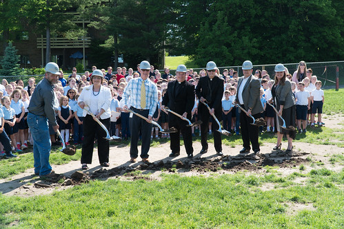 Our Lady of Consolation breaks ground on school addition