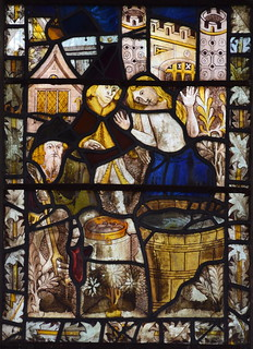 St Margaret about to be boiled in oil (15th Century, south aisle se2)