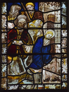 St Margaret taunted and tortured (15th Century, south aisle se2)