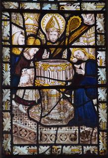 Seven Sacraments: Baptism (15th Century, south aisle se2)