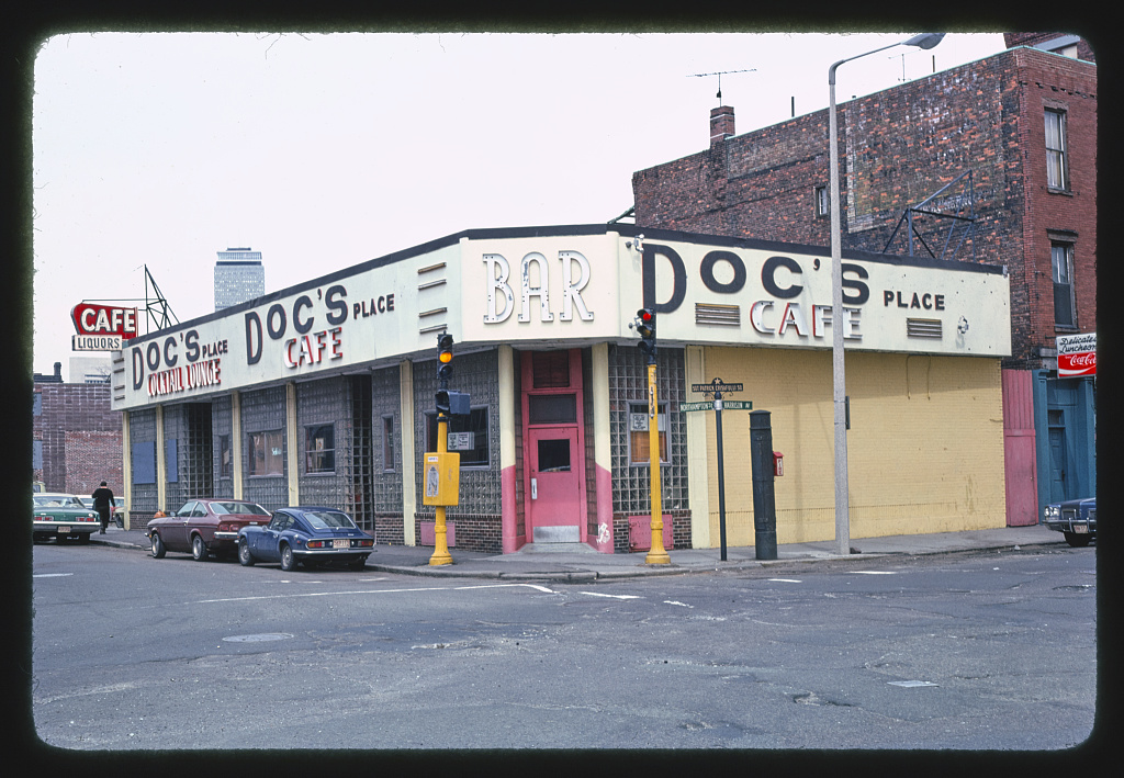 Doc's Place Cocktail Lounge Cafe (late 1930s), Boston, Massachusetts (LOC)