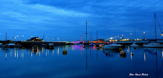 Evening Blue's