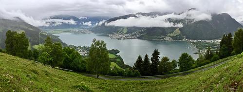 zellamsee salzburg zellersee lakezell schmittenhöhe schmitten austria österreich oostenrijk alps alpen mountains panorama panoramzellersee thumersbach schützingalm lake see meer