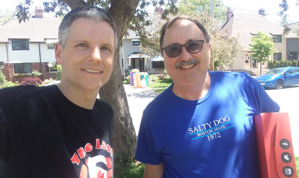David Shoalts and me